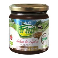 Trini Dulce de Leche Alpino con Stevia Sin TACC x 200 Grs - El Banquito Market