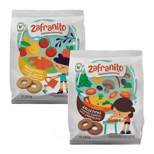 Zafranito Galletitas Orgánicas x 150 Grs - El Banquito Market