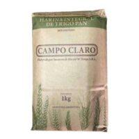 Campo Claro Harina Integral Orgánica x 1 Kg