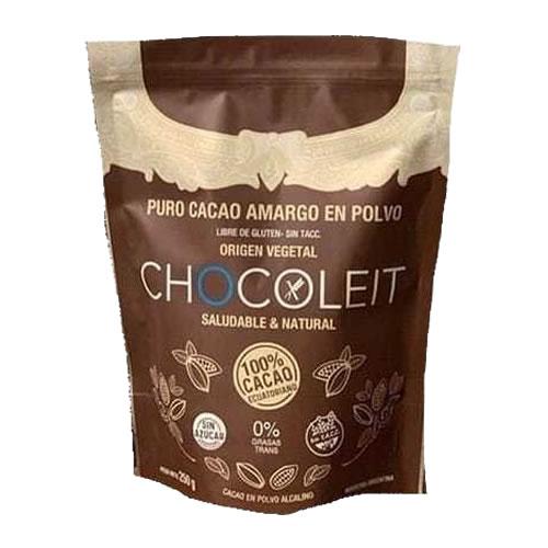 Chocoleit Cacao en Polvo 100% x 250 Grs - El Banquito