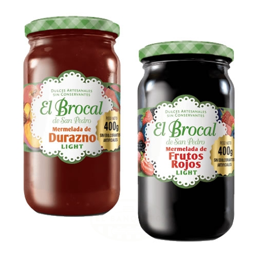 El Brocal Mermeladas Light x 400 Grs - El Banquito Market
