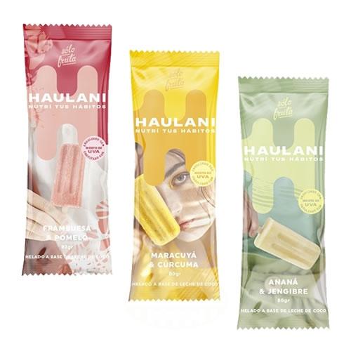Haulani Palitos Helados a Base de Coco Sin Conservantes x 80 Grs - El Banquito Market
