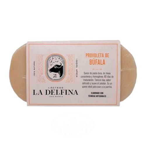 La Delfina Provoleta de Búfala x 120 Grs - El Banquito Market