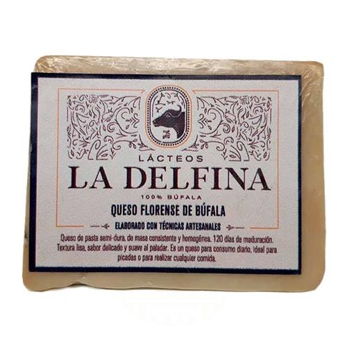 La Delfina Queso Florense de Búfala x 300 Grs - El Banquito Market