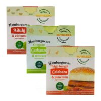 Nutrileza Hamburguesas Veganas x 360 Grs - El Banquito Market