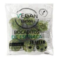 Vegan Station Bocaditos de Espinaca Veganos x 280 Grs (8 Uni) - El Banquito Market