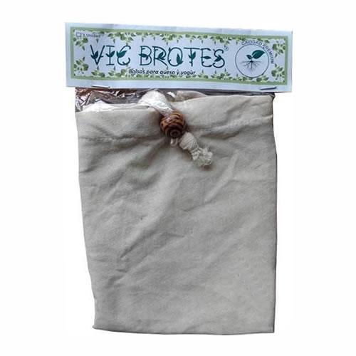 Vic Brotes Bolsas para Queso y Yogur Reutilizables x 2 Unidades - El Banquito