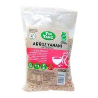 Yin Yang Arroz YamanÍ Integral Orgánico Sin TACC x 500 Grs - El Banquito Market