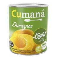 Cumaná Duraznos en Mitades Light x 800 Grs - El Banquito