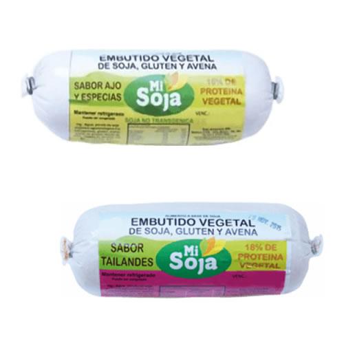 Mi Soja Embutido Vegetal de Soja x 220 Grs - El Banquito