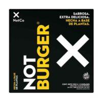 NotCo Not Burger Medallón a Base Proteína de Soja 4u (320 Gr) - El Banquito