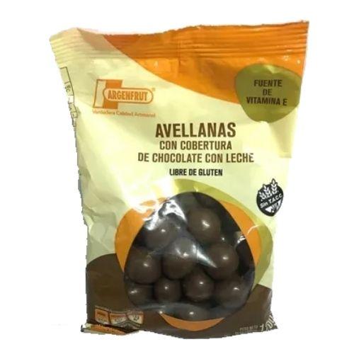Argenfrut Avellanas Con Cobertura de Chocolate Con Leche x 120 Grs