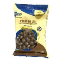 Argenfrut Pasas de Uva Con Chocolate Con Leche x 120 Grs