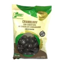 Argenfrut Cranberry Con Cobertura de Chocolate Semi Amargo x 120 Grs