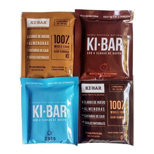 KI-BAR Barra Proteica 100% Natural x 80 Grs - El Banquito Almacén Natural